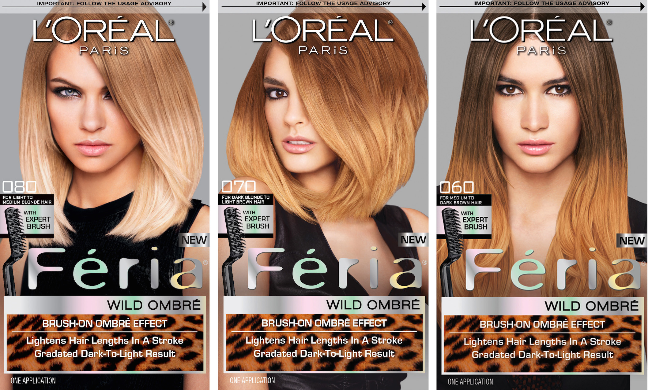 standout with l�or233al feria wild ombr233 hype my hair