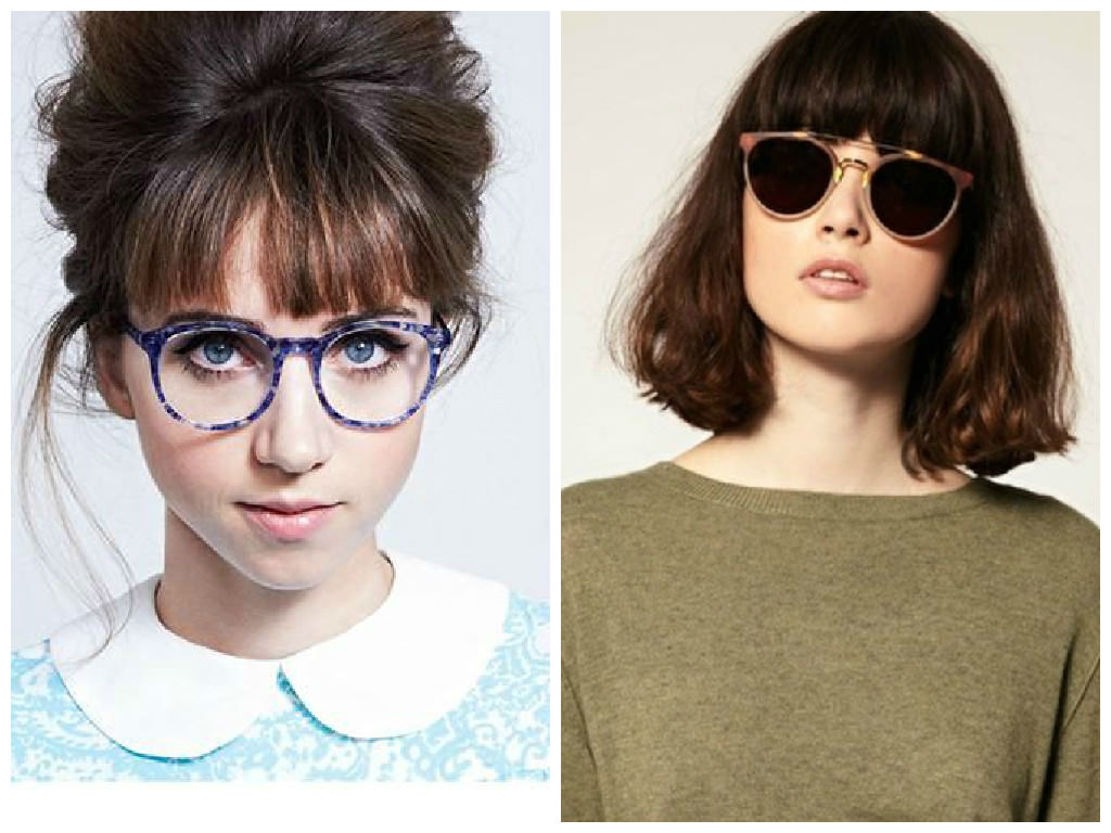 Hairstyles 2017 With Glasses : Bangs-with-Glasses-Hairstyles